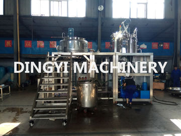 SS316L Vacuum Planetary Mixer , Cosmetic Cream Mixers 1150-3500rpm Shear Speed